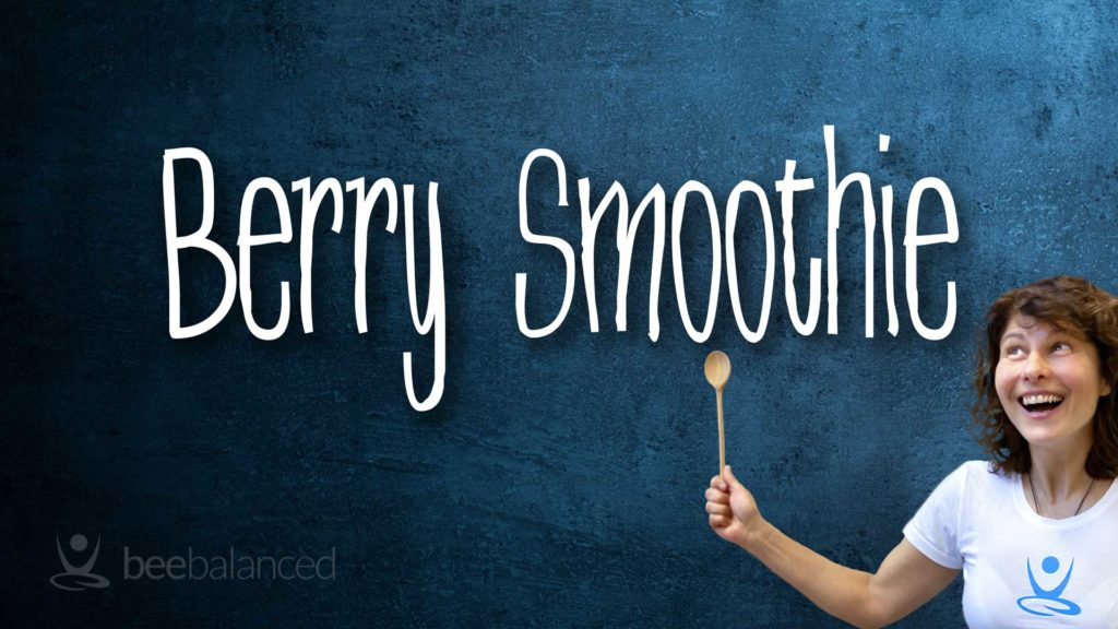 Berry Smoothie Rezept Cover