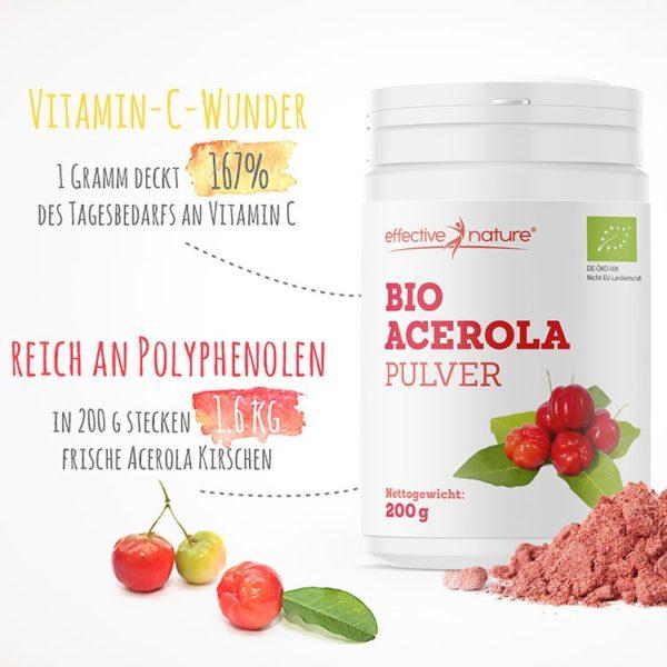 Acerola-Pulver-Benefits