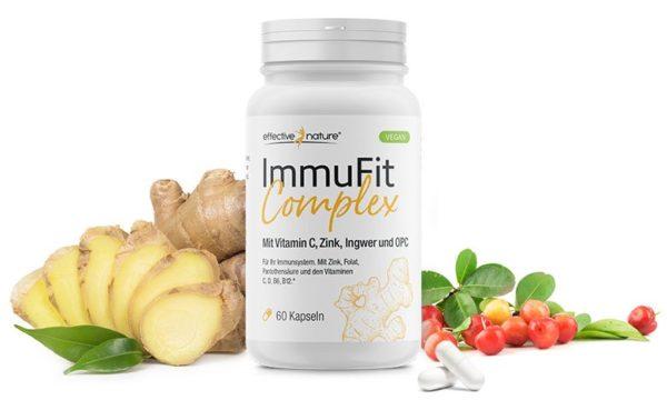 ImmuFit Complex Dose an Ingwer und Beeren