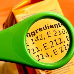 E-Nummern Lebensmittelkunde
